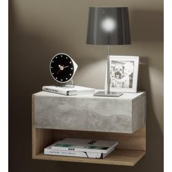 """VCM Nachttisch Wand - Nachttisch """"Dormal"""" grau"""