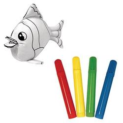 Rayher Stofftier zum Bemalen Fisch