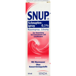 SNUP Schnupfenspray 0,1% Nasenspray 10 ml