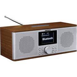 Lenco DIR-170WA Internet-Radio (UKW mit RDS, Digitalradio (DAB), Internetradio, FM-Tuner, 20 W)