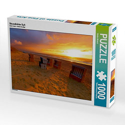 Strandkörbe Sylt Lege-Größe 64 x 48 cm Foto-Puzzle Bild von Stefan Mosert Puzzle
