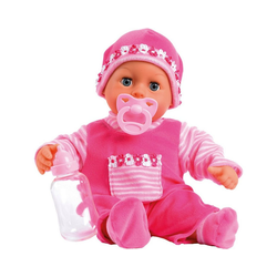 Bayer Babypuppe Babypuppe First words baby, pink, 38 cm