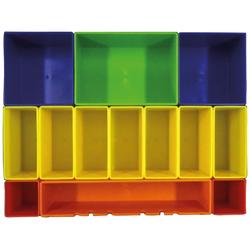 Makita Aufbewahrungsbox P-83652, farbig mit 13 Fächern