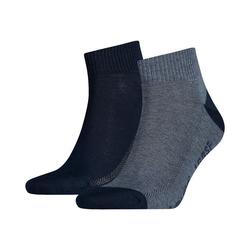 Levi's® Sneakersocken Levi's® 2 Paar Kurzsocken Socken blau 43-46