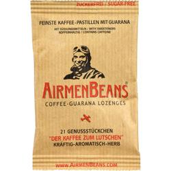 AIRMENBEANS feinste Kaffee Pastillen m.Guarana 21 St.