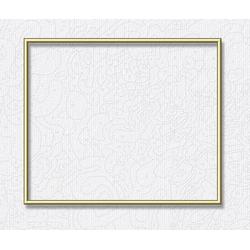 Schipper Bilderrahmen Alurahmen 50x60 cm, Gold, Made in Germany