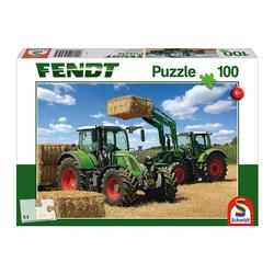 Schmidt Spiele Puzzle Fendt 724 Vario Fendt 716 Vario, 100 Puzzleteile bunt