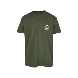 Cleptomanicx T-Shirt Clepto Club grün M