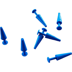 KATHETERSTOPFEN steril 13 mm blau 100 St