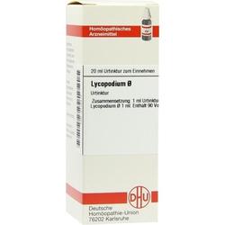 LYCOPODIUM D 1 URT