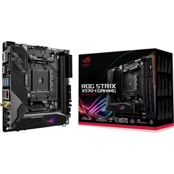 Asus ROG STRIX X570-I GAMING Mainboard Sockel AMD AM4 Formfaktor Mini-ITX Mainboard-Chipsatz AMD® X