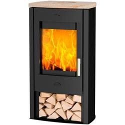 Fireplace Kaminofen Tuvalu Sandstein Top, 6 kW, Zeitbrand