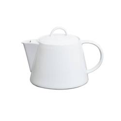 Teekanne/Kaffeekanne SOLEA von caterado, Porzellan, weiß. Höhe ohne Deckel 11,6
