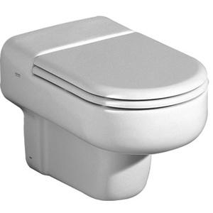 Keramag / Geberit Courreges WC-Sitz Scharniere verchromt - Weiß (Alpin) - 572700000