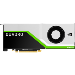 PNY NVIDIA Quadro RTX 8000 48GB GDDR6 Workstation Grafikkarte 4x DP/USB-C