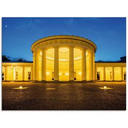 Artland Glasbild Elisenbrunnen Aachen, Gebäude (1 Stück) 60 cm x 45 cm x 1,1 cm