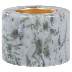 Svensk Marmor Teelichthalter blau marmor 5,5cm