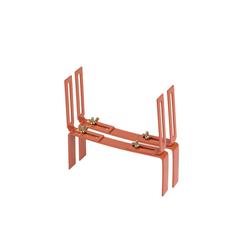BigDean Wandhalter Blumenkastenhalter Standard H−Form Kasten Halter Balkonkastenhalter, 1-St. braun