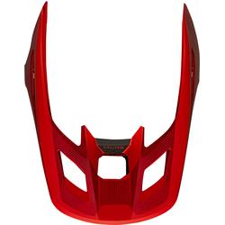 FOX V2 Speyer Helmschirm, rot, Größe XS S