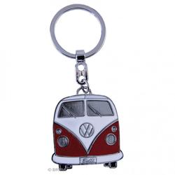 VW Bulli T1 Schlüsselanhänger rot