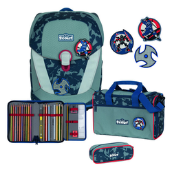 Scout Sunny II Schulranzen-Set 4tlg. blue ninja