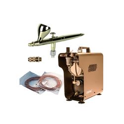 Airbrush-City Druckluftwerkzeug Komplett Airbrush Set 3141 mit Evolution Silverline, (1-St)