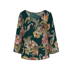 Lavard Damenbluse mit Blumenmotiv 84659  36