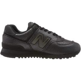 NEW BALANCE WL574 Worn Metallic black/black metallic 37