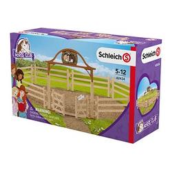 Schleich® Horse Club 42434 Pferdekoppel mit Eingangstor Set