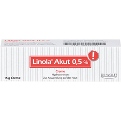 LINOLA akut 0,5% Creme 15 g