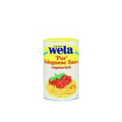 Bolognese Sauce vegetarisch 'Pur' 1/2 Dose - wela