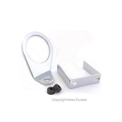 KOSO-houder voor 55mm D-type instrumenten, zilver