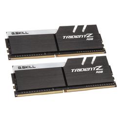 G.Skill Trident Z RGB AMD Ryzen 16 GB DDR4-2400 Kit - Arbeitsspeicher - schwarz Arbeitsspeicher
