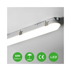 Buling - 150CM 50W 5000LM LED Feuchtraumleuchte Feuchtraumlampe Feuchtraumleuchtung im