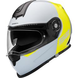 Schuberth S2 Sport Redux Motorrad Integralhelm, grau-gelb, Größe 2XL