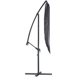 KONIFERA Sonnenschirm-Schutzhülle, LxB: 190x32 cm grau Gartenmöbel-Schutzhüllen Gartenmöbel Gartendeko Sonnenschirm-Schutzhülle