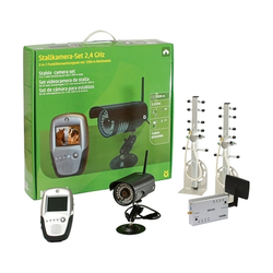 Kerbl Stallkameraset Anhängerkameraset 2,4 GHz, Stall- und Anhängerkameraset