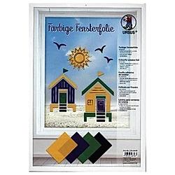 Farbige Fensterfolie
