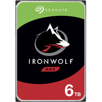 "Seagate IronWolf 6 TB 3,5"" ST6000VN001"