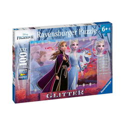Ravensburger Puzzle Puzzle, 100 Teile XXL, 49x36 cm, Frozen 2, Puzzleteile