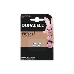 Duracell Knopfzelle, (2 St), lange Lebensdauer
