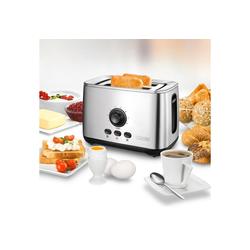 Unold Toaster 38955, 2 kurze Schlitze, 2100 W, mit Turbo-Toast-Funktion