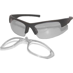 Upixx L+D Click & Blick 26701 Schutzbrille Schwarz DIN EN 166-1