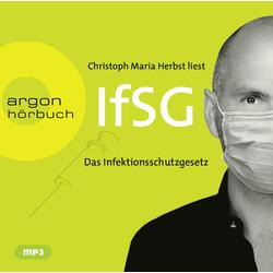 Infektionsschutzgesetz (IfSG) als Hörbuch CD von