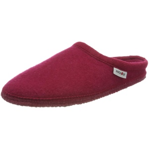 Haflinger Unisex - Erwachsene, Hausschuh, Rot(ziegelrot), 38