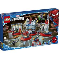Angriff auf Spider-Mans Versteck