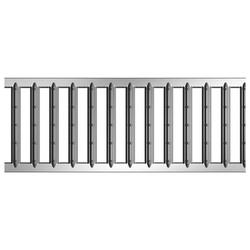 ACO Severin Ahlmann GmbH & Co. KG Regenrinne ACO Self® Rost Stegrost Stahl verzinkt 50cm Rinnenrost Ersatzrost Rost für Bodenrinne Art. Nr. 38517, 1-St.