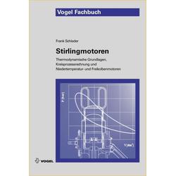 Stirlingmotoren als Buch von Frank Schleder