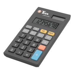 Taschenrechner »J 810 solar« schwarz, TWEN, 6.2x0.9x11 cm