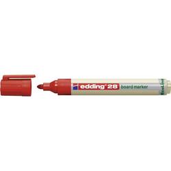 Edding 4-28002 28 Whiteboardmarker Rot